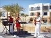 2004.01.-03. Egypt. Tříměsíční angažmá s kapelou Arosband