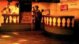 Pódium a taneční parket